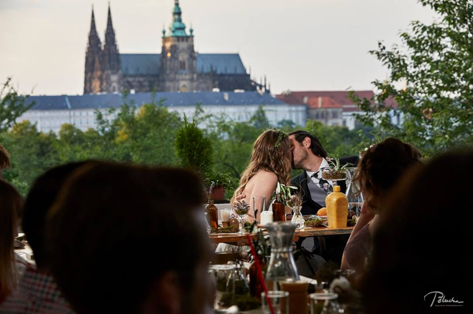 Dinner Overlooking Prague Castle