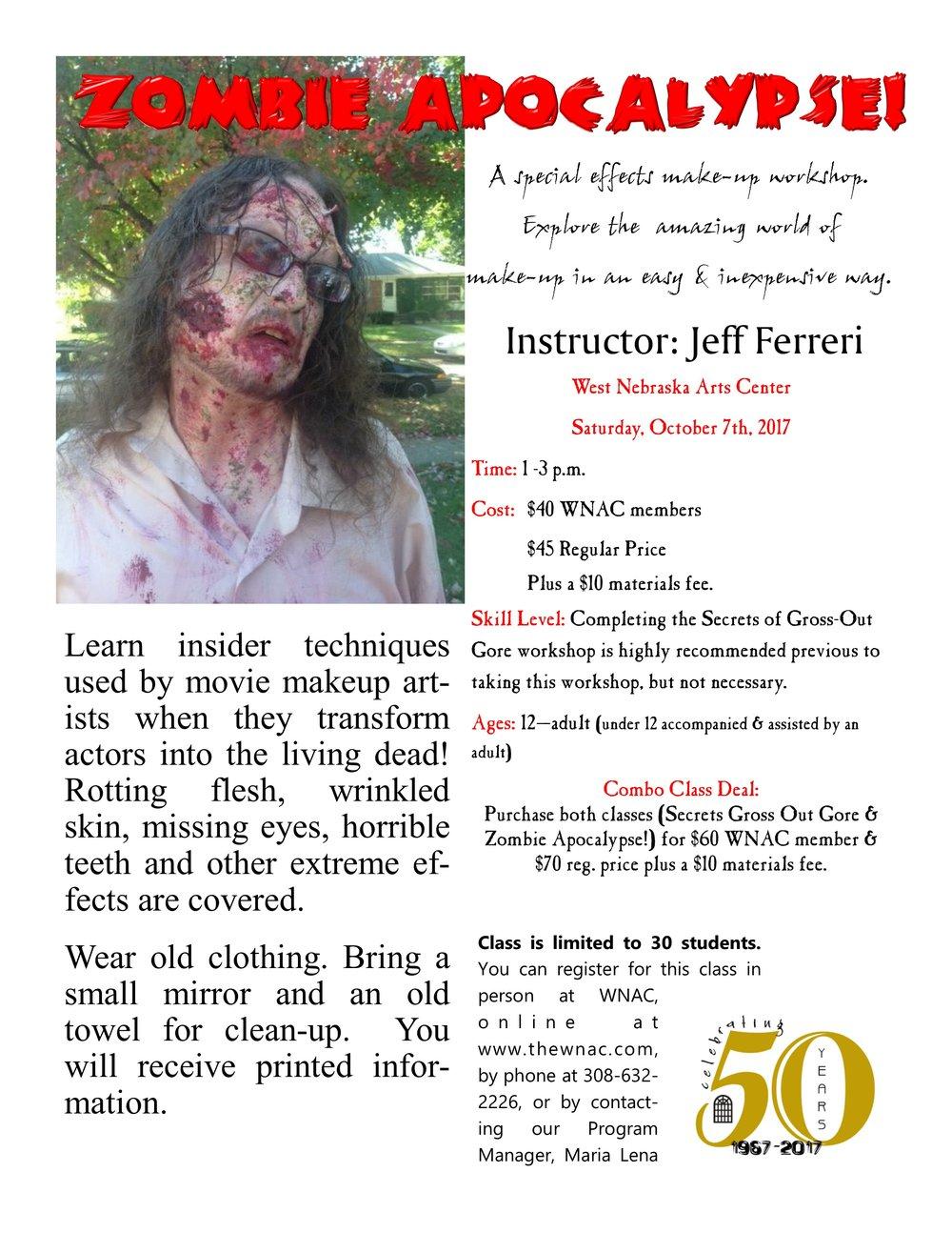 2017 - Ferreri- Zombie Apocalypse! flyer.jpg