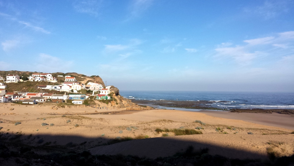 Monte Clerigo, one of the beaches we visited.