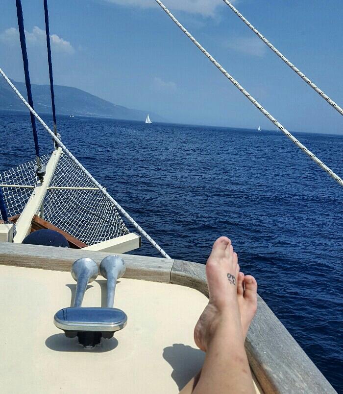 Life on a sailboat