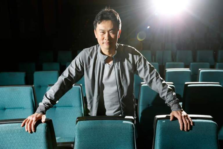 Philip Kim of FM Magazine and the Silver Scream Film & Comic Fest. Photo:  pressdemocrat.com