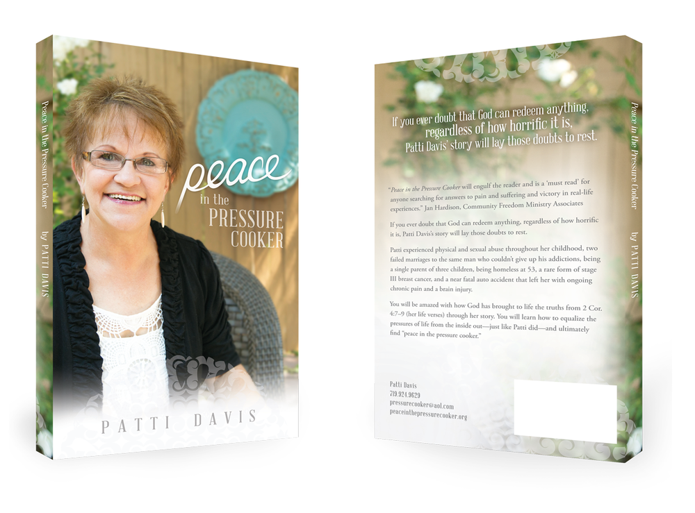 Patti Davis Ministries Book Design | Finicky Designs