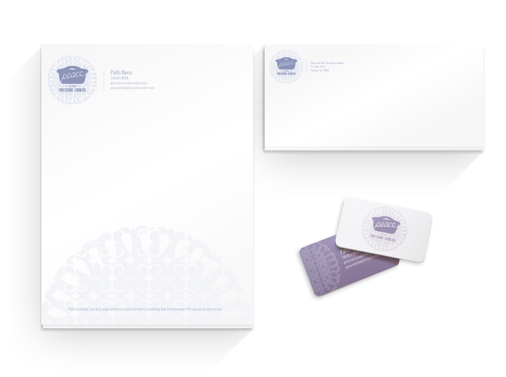 Patti Davis Ministries Identity Design | Finicky Designs