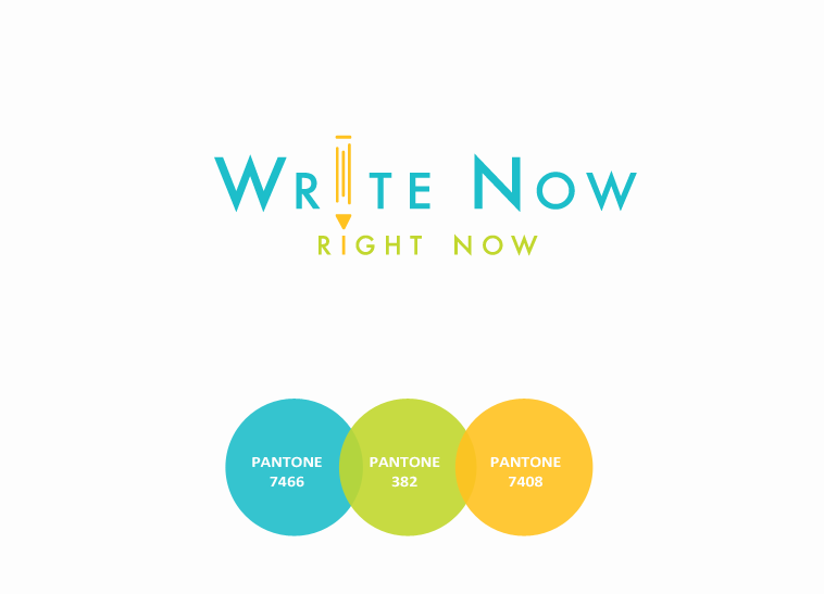 Write Now-Right Now Identity Design | finickydesigns