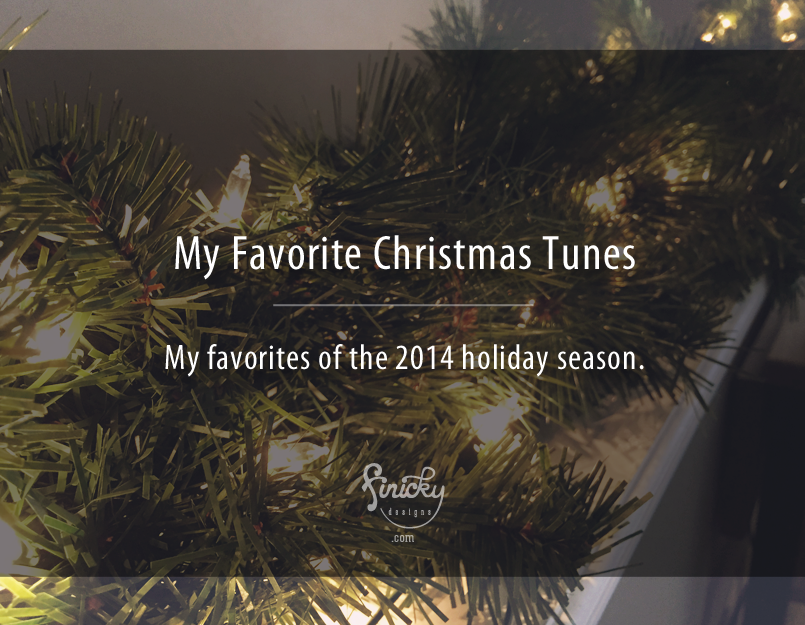 My Favorite Christmas Tunes of 2014 | finicky designs