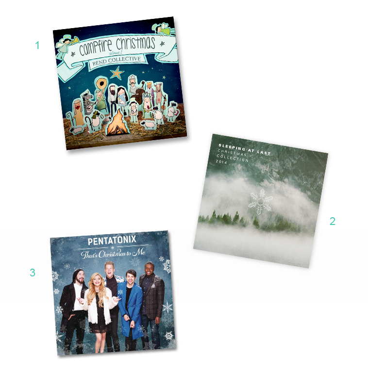 2014 Albums — Christmas Tune Favorites | finicky designs