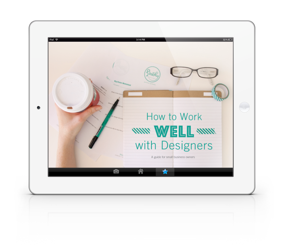 How to Work WELL with Designers - a FREE eBook