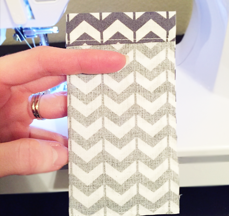 DIY Business Card Bag — Perfect for networking event gifts! by finicky designs