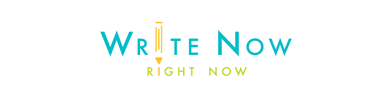 Write Now, Right Now logo testimony