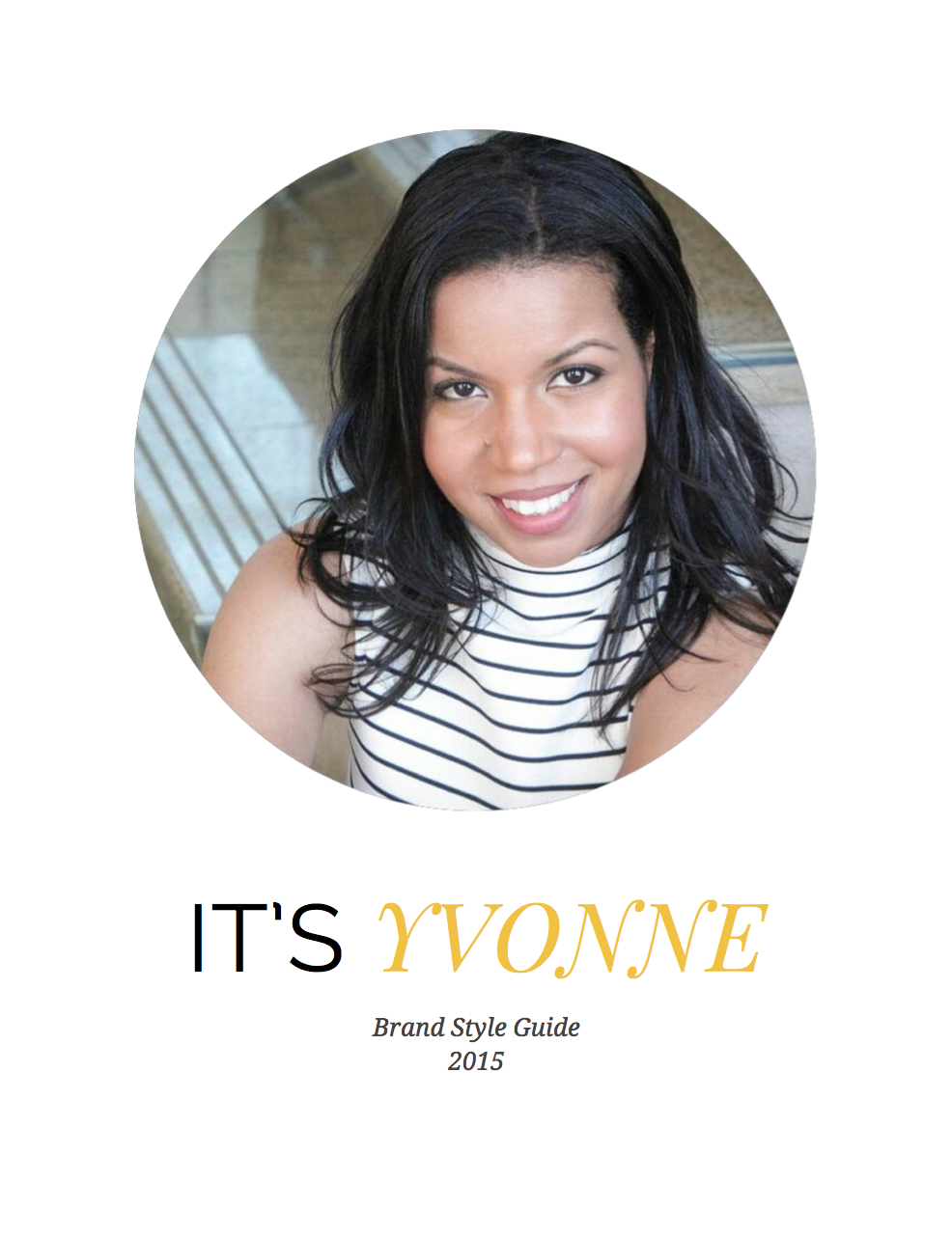 Yvonne Brand Style Guide