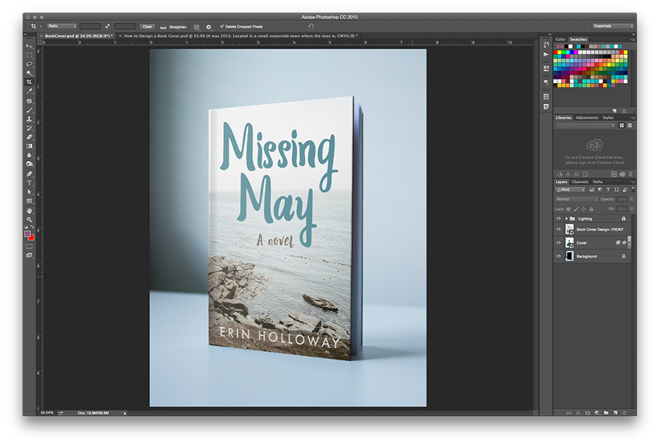 How to Make a Book Mockup in Photoshop
