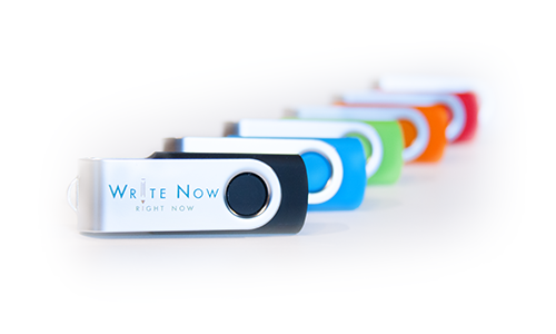 Write Now Right Now USB Photos by Finicky Designs
