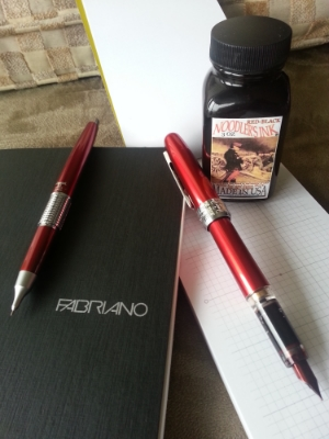 I used a red mechanical pencil throughout grad school and ever since. So glad they had the Kerry in red!