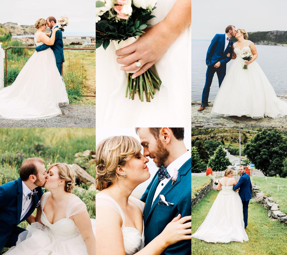JULIA & JOSHUA / AUGUST 2015 / BRIGUS, NL