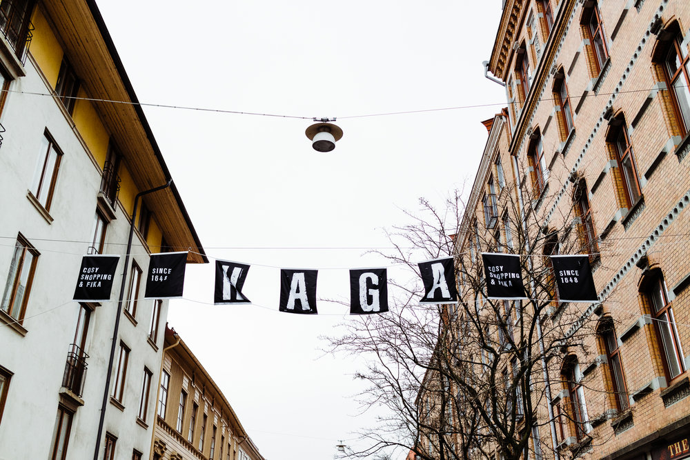 Haga is the oldest shopping district in Gothenburg dating back to 1648!
