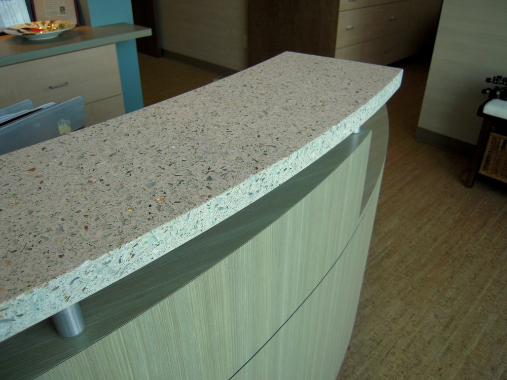 Reception Counter Detail