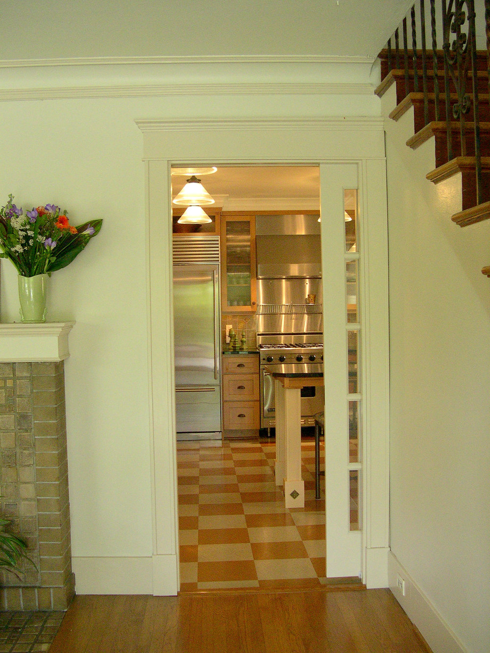 New Kitchen Doorway