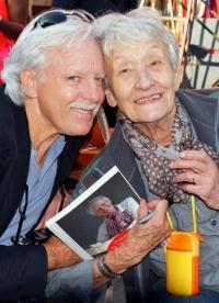 Bob with Francoise-Anne Bachelier