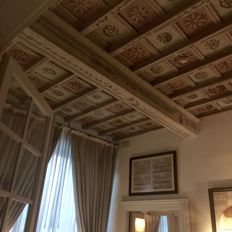 Ceiling detail, JK Place