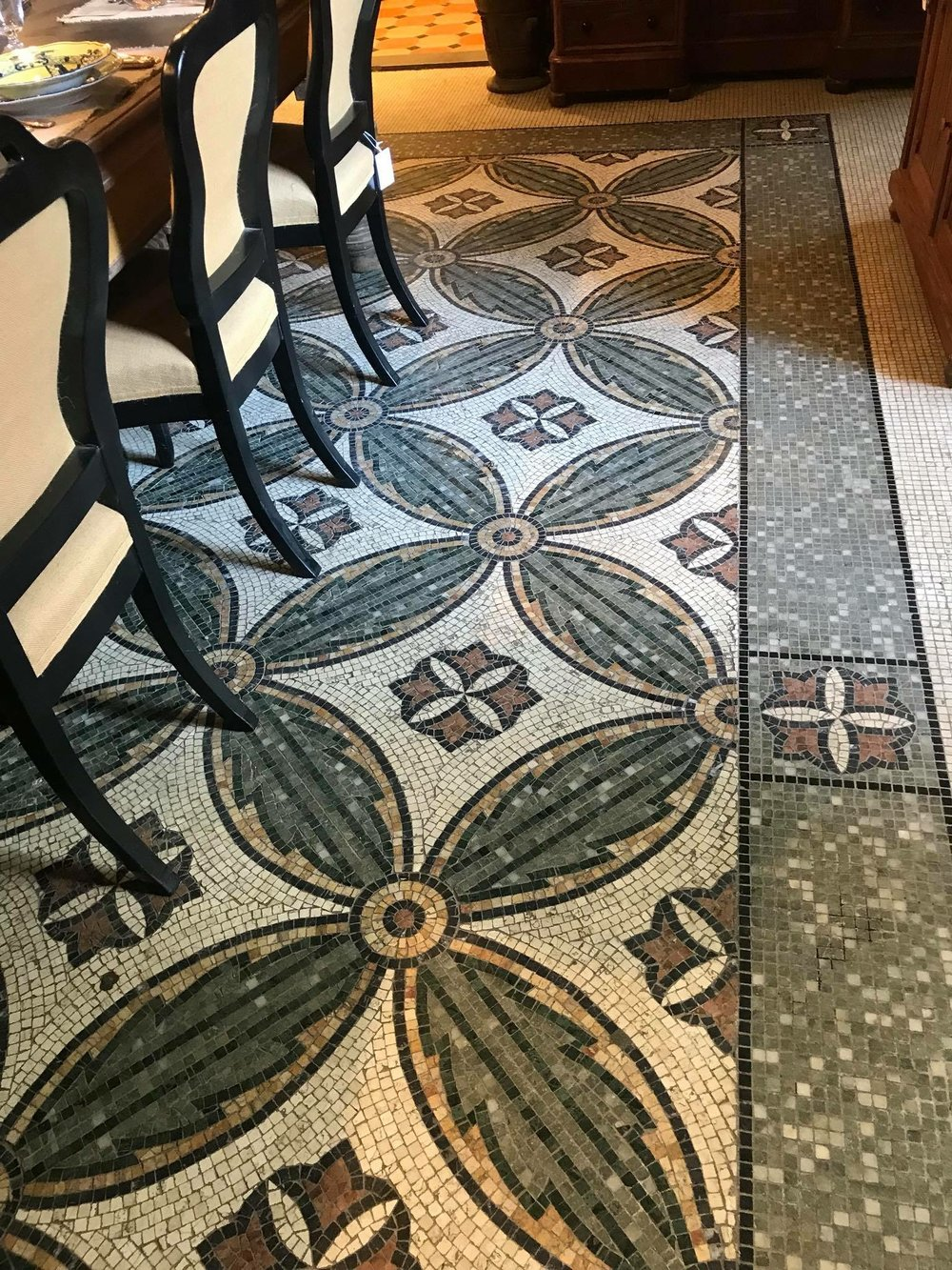 One of the incredible floors featured at    Riccardo Barthel    - bellisimo pavimento! (beautiful floor in Italian)