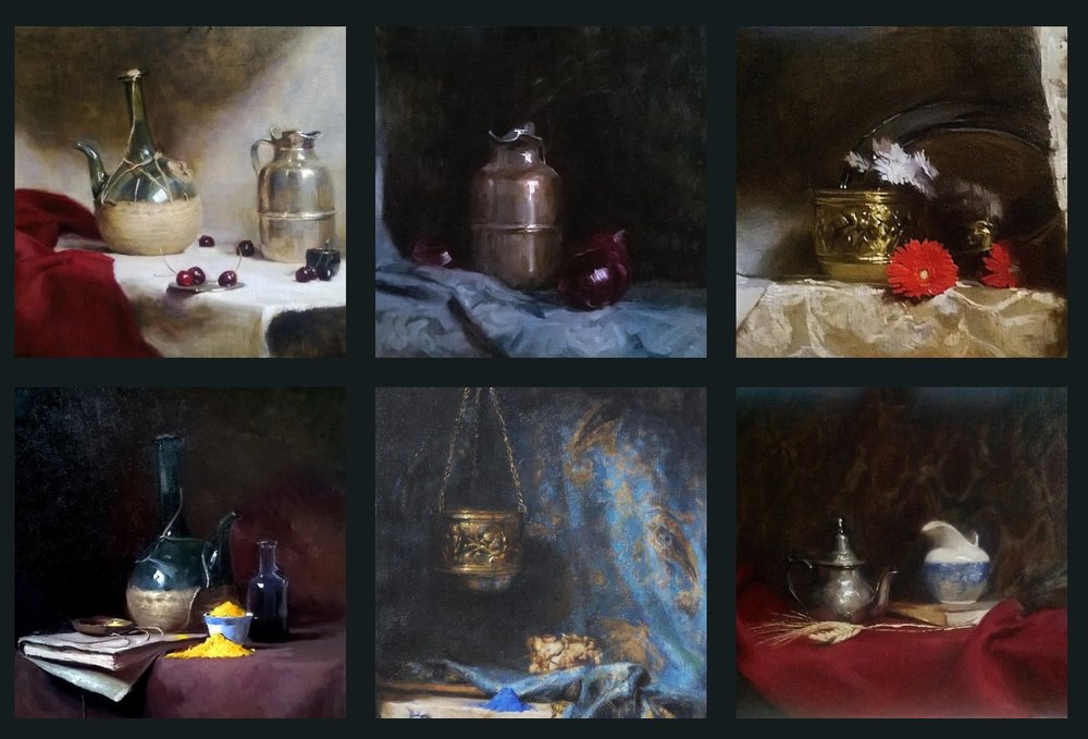 Tanvi's still life examples from her website