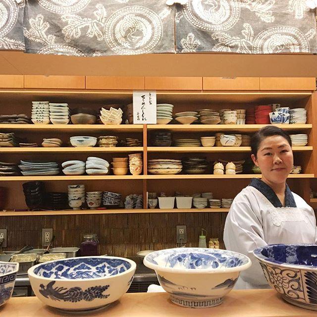 What my dream ceramics shelves would look like. Taken at the delightful obanzai restaurant Menami in Kyoto. #kyoto #japan #ceramics #foodie