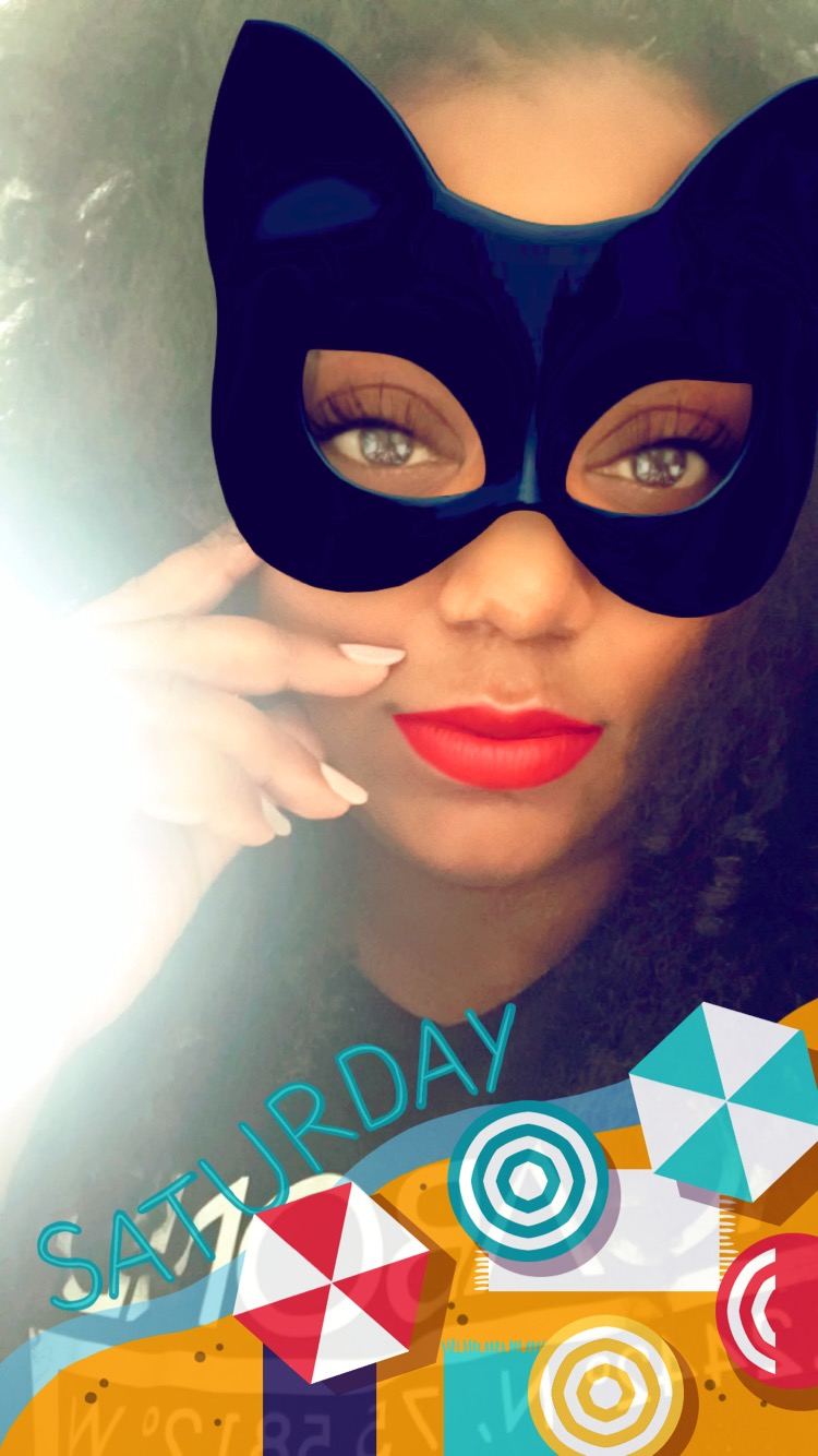Snapchat filters lol
