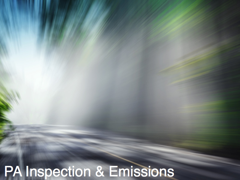 PA Inspections and Emissions Testing