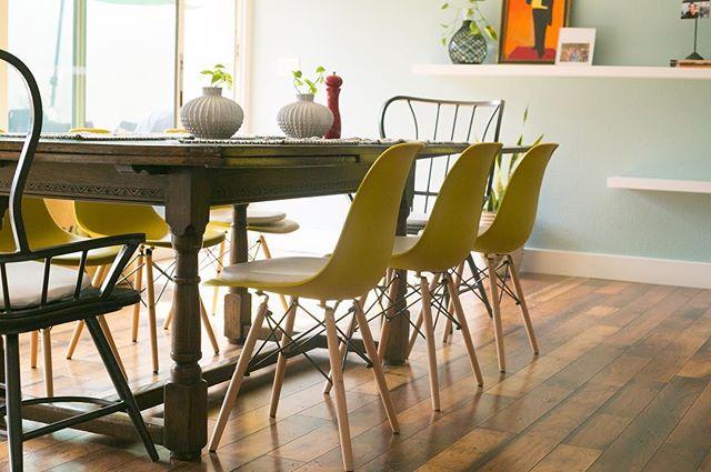 Sunny skies call for sunny chairs ☀️☀️☀️ #jamesmatthewdesign