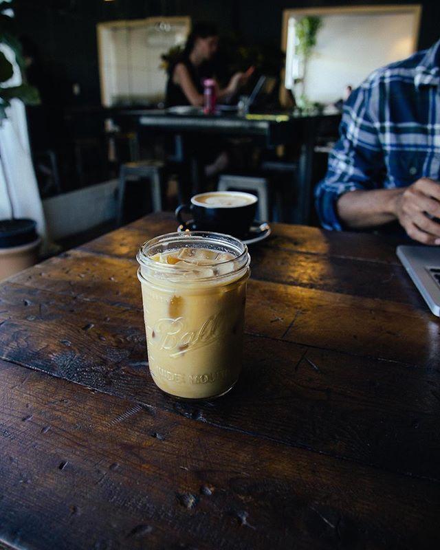 On the rocks, please. . . . #interiordesign #homedecor #interiorstyling #style #styling #coffee #home #coffeeshop #coffeetime #figure8 #figure8coffeepurveyors #laptop #apple #entrepreneur #startup #smallbusiness #inspiration #work #austintx #texas #designing #creative #create #hgtv #latte