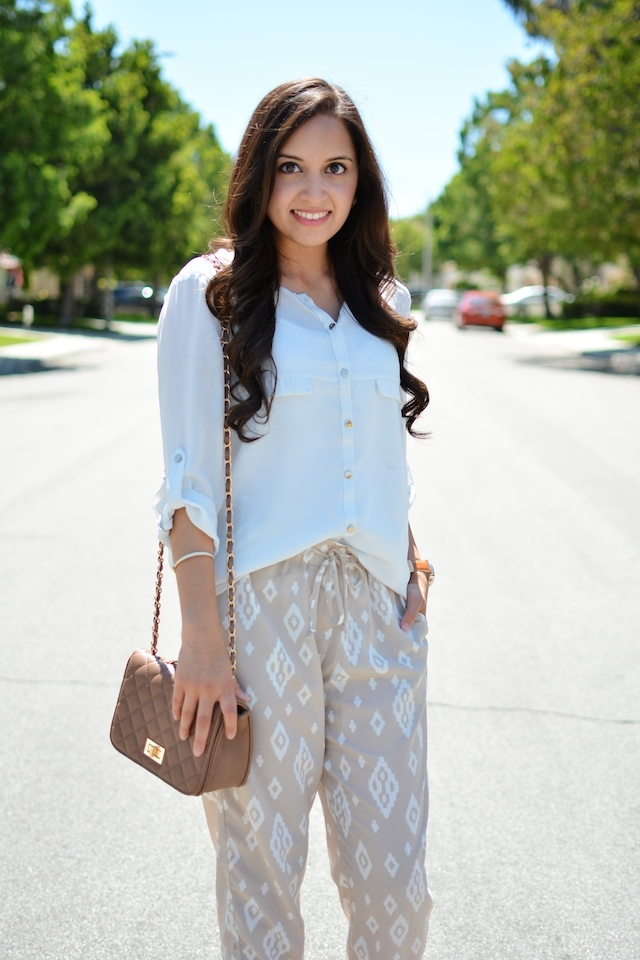 Aztec Print, neutral summer style, summer fashion