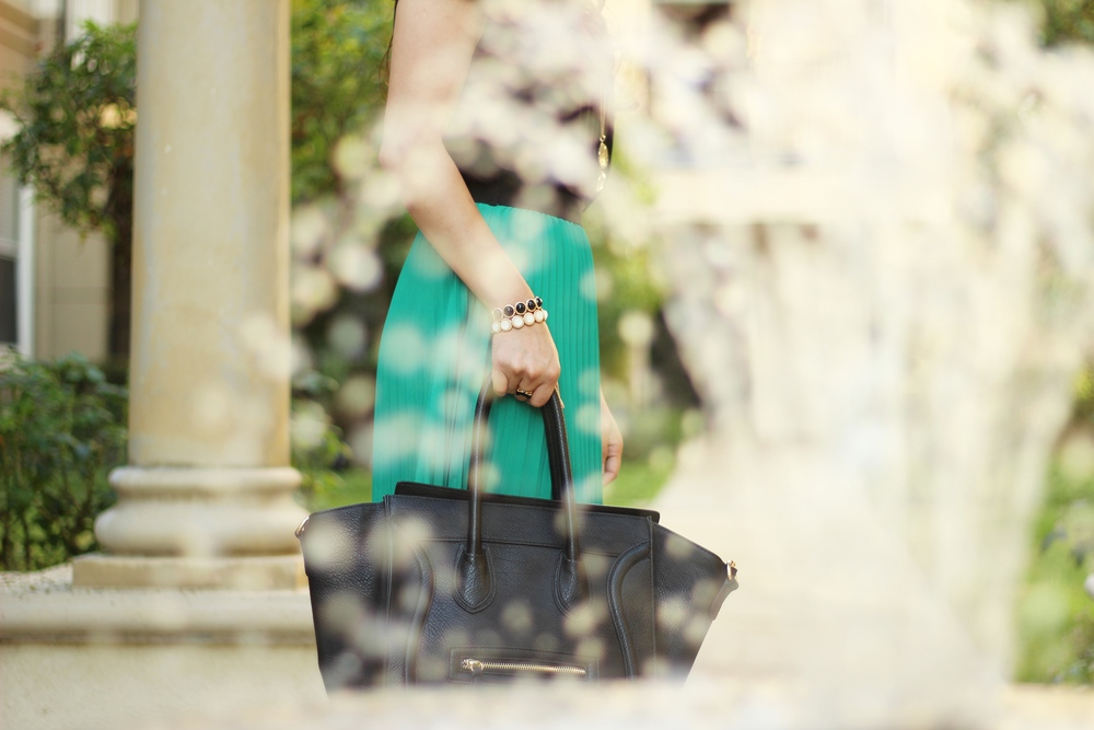 Celine Inspired black structured handbag from DailyLook.com