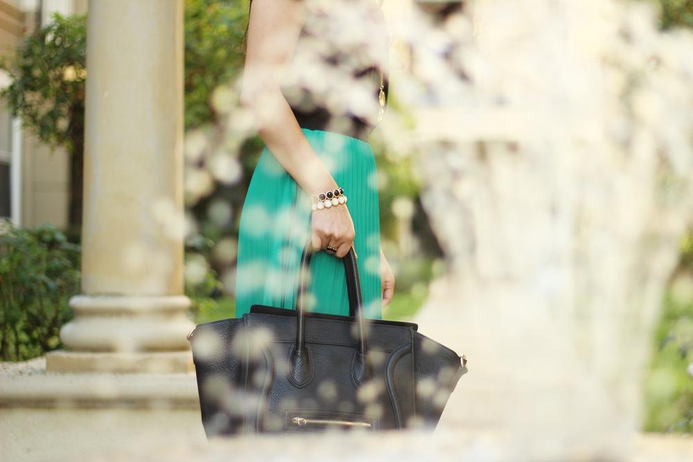 Celine Inspired black structured handbag from DailyLook.com