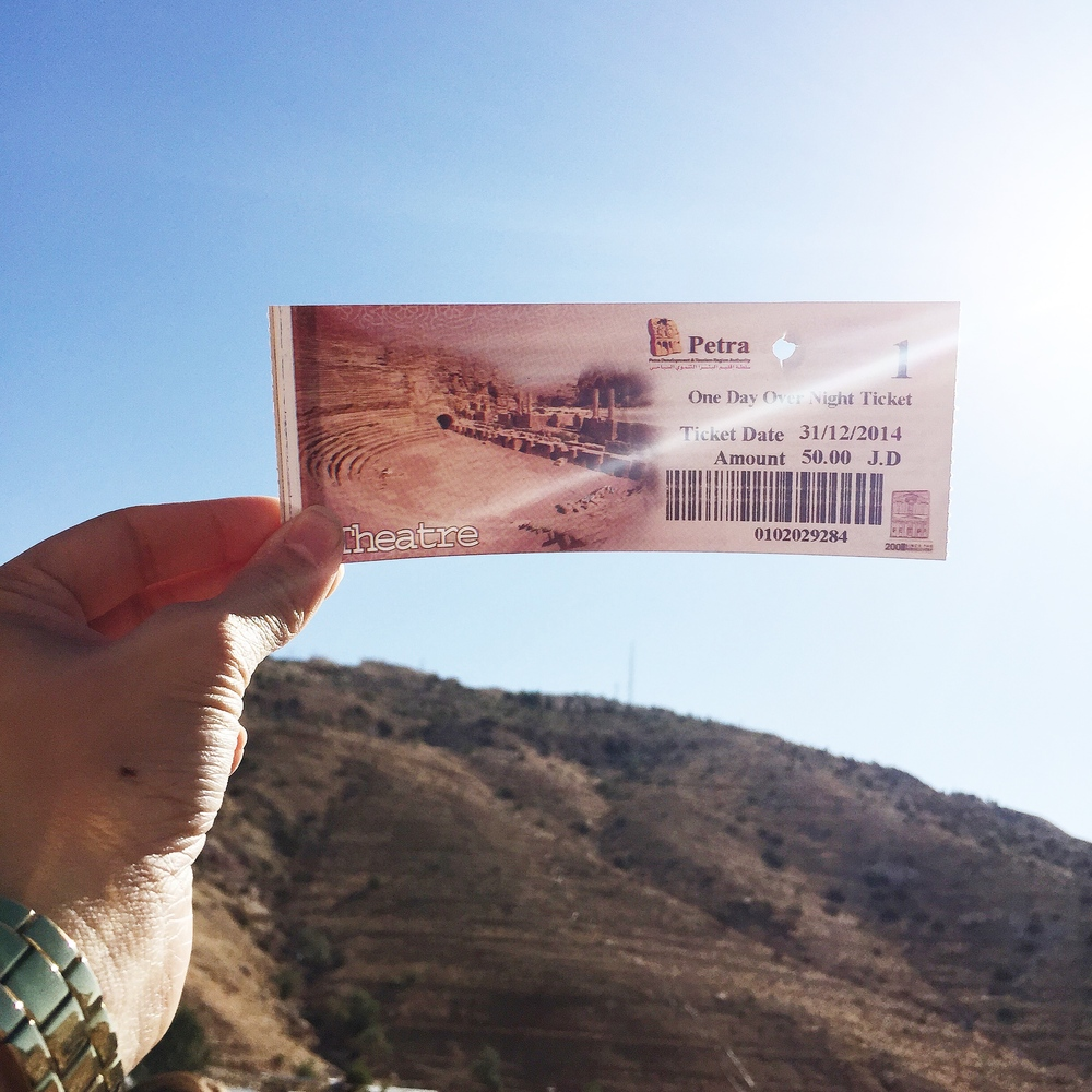 Ticket to Petra