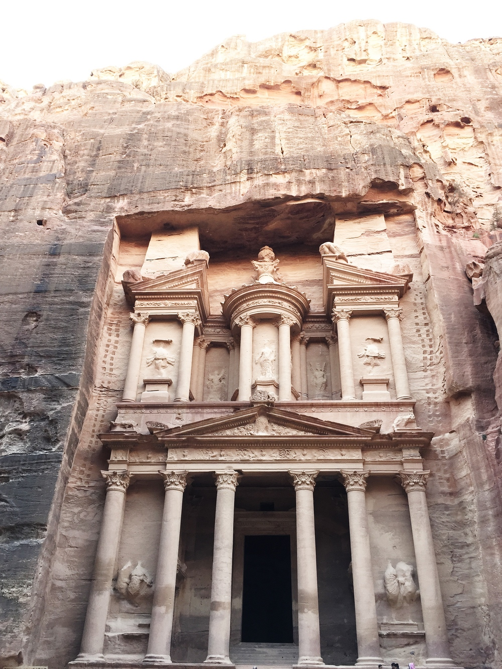 The Treasury: Entrance to the city of Petra