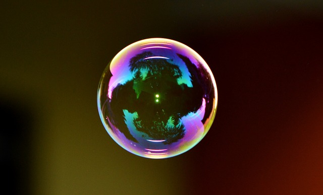 It doesn't matter what's happening in the world if your own economy is in a bubble