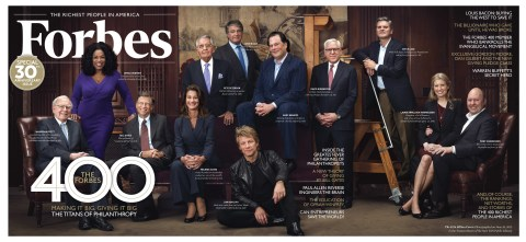 Every issue of   Forbes   is loaded with value creators