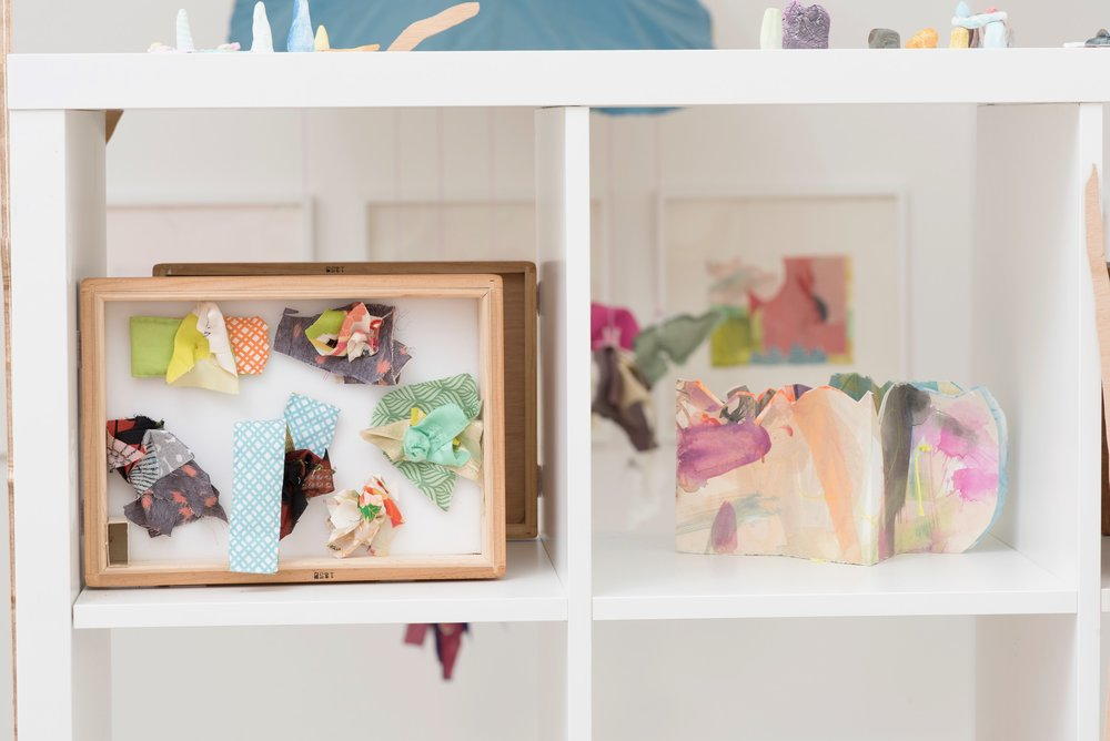 Lanyon Bug Boxes, 2018 (left)