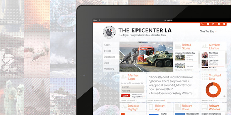 The EPICenterLA  ·  Disaster Preparedness website