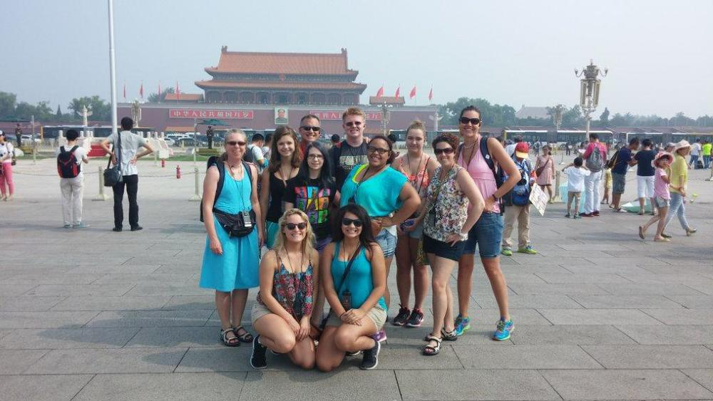 Tiananmen Square in Beijing –  a required a stop for every trip to China.