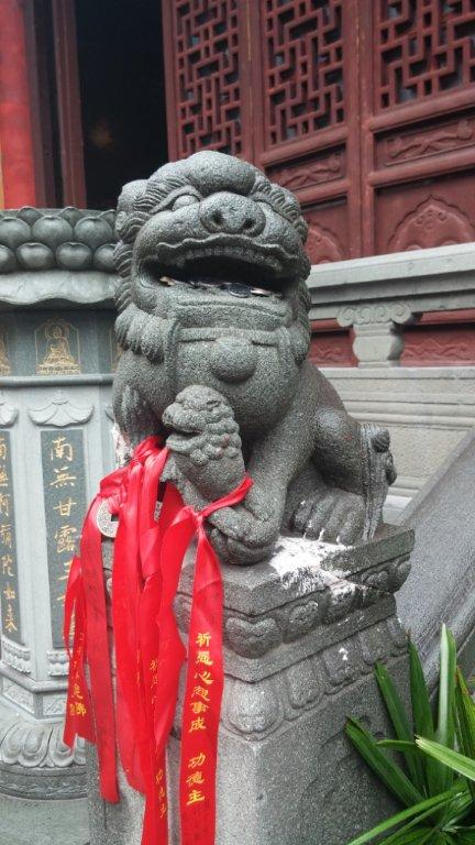 The Jade Budda Temple in Shanghai.