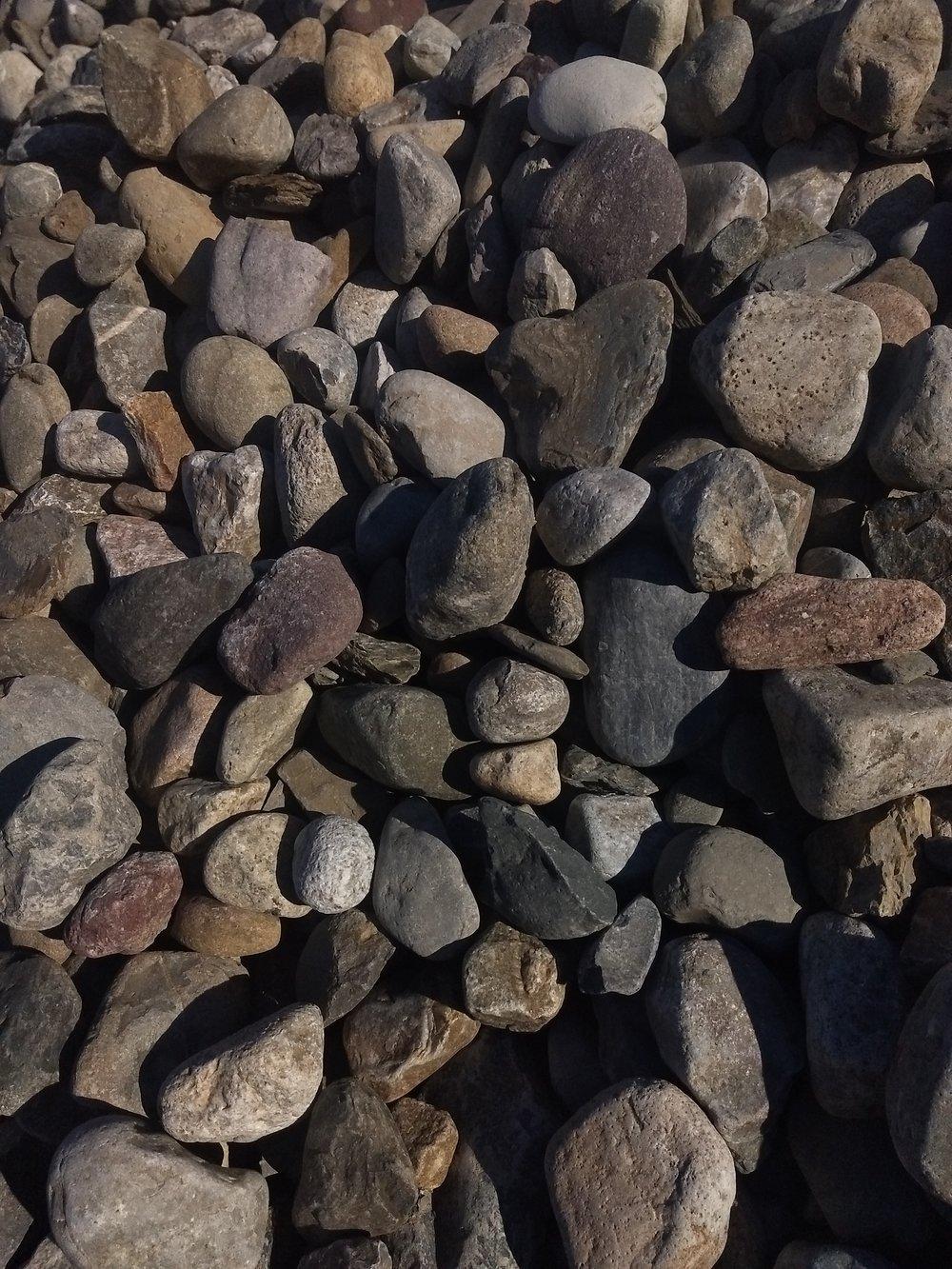 """1""""-1.5"""" Delaware Gravel"""