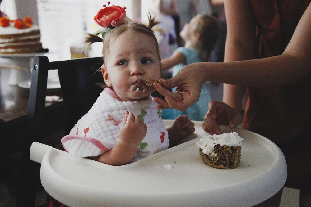Charlotte's First Birthday -
