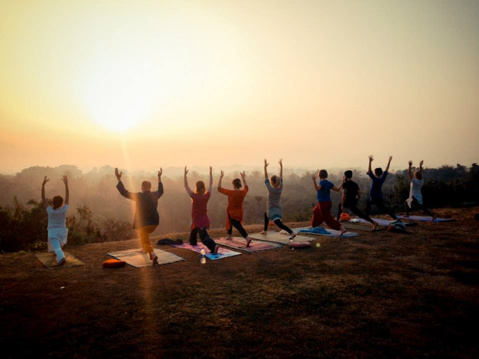 28 SEP -4 OCT 2015 // INDIA         EDO AND JO YOGA RETREAT