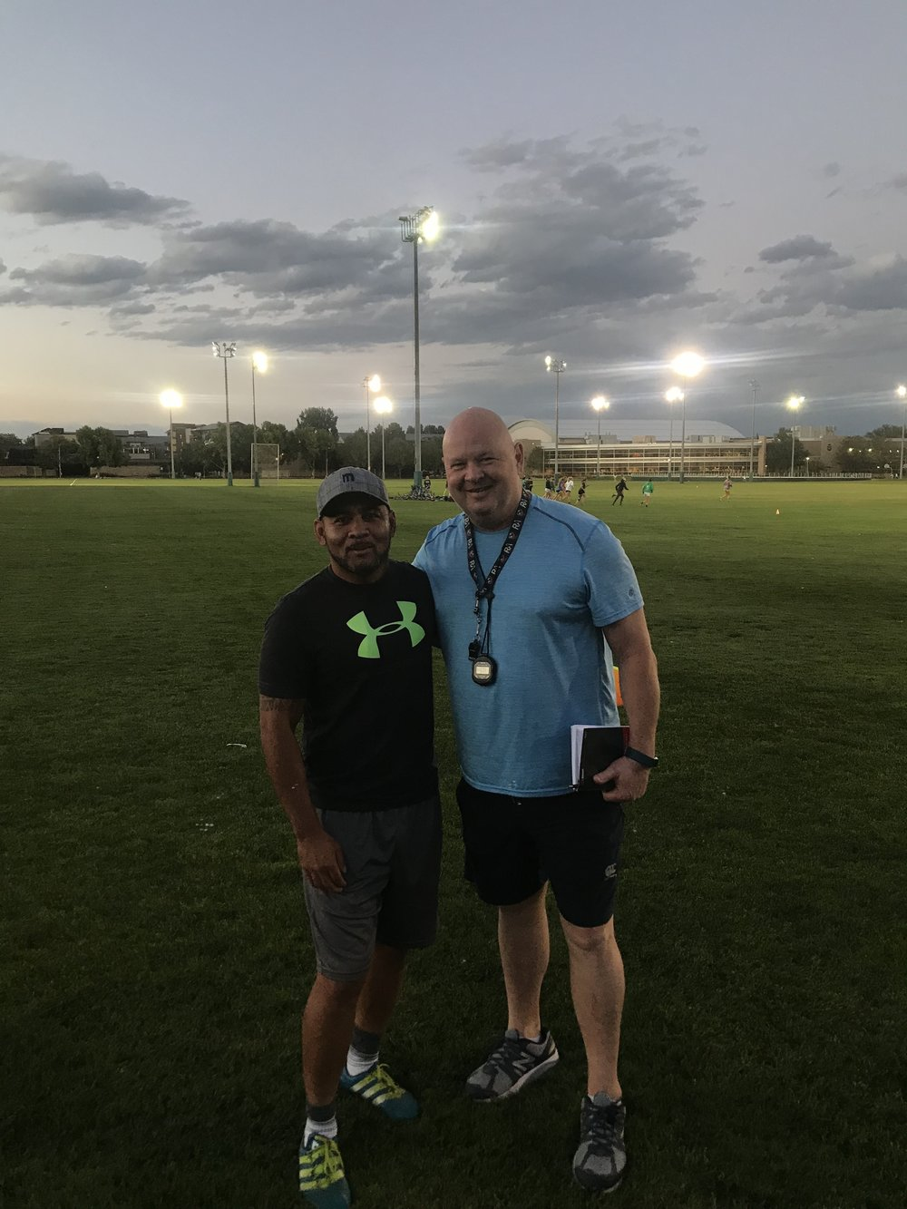 Ram Rugby Coaching Staff: - Pictured: Mose Timoteo (Left) and Sean O'Leary (Right)With 32 USA 15s National team appearances and 28 international 7s tournament appearances for the USA, Coach Mose Timeoteo is deeply ingrained in the player's portion of USA Rugby. Recently he has transitioned into coaching, spending years with Golden Gate Rugby Club in San Francisco and the Glendale Raptors Men's and Women's team. Ram Rugby has been lucky enough to bring him to the forefront of the program as Head Coach and backs specialist. Coach Sean O' Leary is heavily rooted in the Eagles Impact Rugby Academy (EIRA) and has recently been a consultant coach for Regis Jesuit High School. He is no stranger to collegiate rugby as prior to his work with Regis, O'Learywas the Head Coach and Director of Rugby at the University of Notre Dame from 2007-2015. O'Leary has joined Ram Rugby as a forwards specialist.