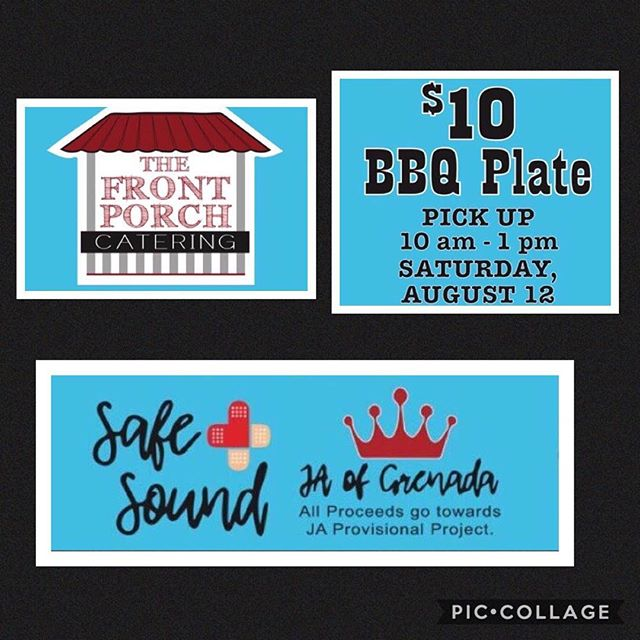 This is your LAST DAY to preorder tickets! Thank you Brian Barton and The Front Porch Catering for donating BBQ plates! Tickets are available through JA members, DM, or contact 662-312-3557 for more information. All proceeds will go toward their new project Safe+Sound, a babysitter safety course.  Plates include BBQ pulled pork sandwich, potato salad, baked beans, and slaw. Thanks for your support!