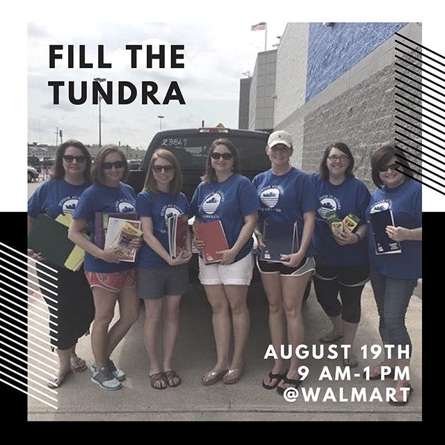 🌟🌟FILL THE TUNDRA IS TOMORROW!!🌟🌟Kirk Toyota and the Grenada Junior Auxiliary are coming together for the children of Grenada County! Please drop off any school supplies you can! We will be in front of Walmart from 9 AM to 1 PM this Saturday, August 19th. Come help support our local kids with school supplies!