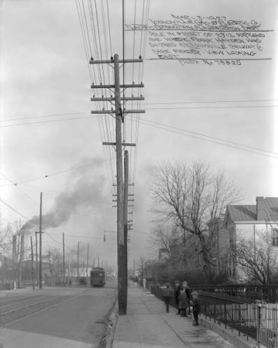 Portland Avenue, Louisville, Kentucky, 1927.