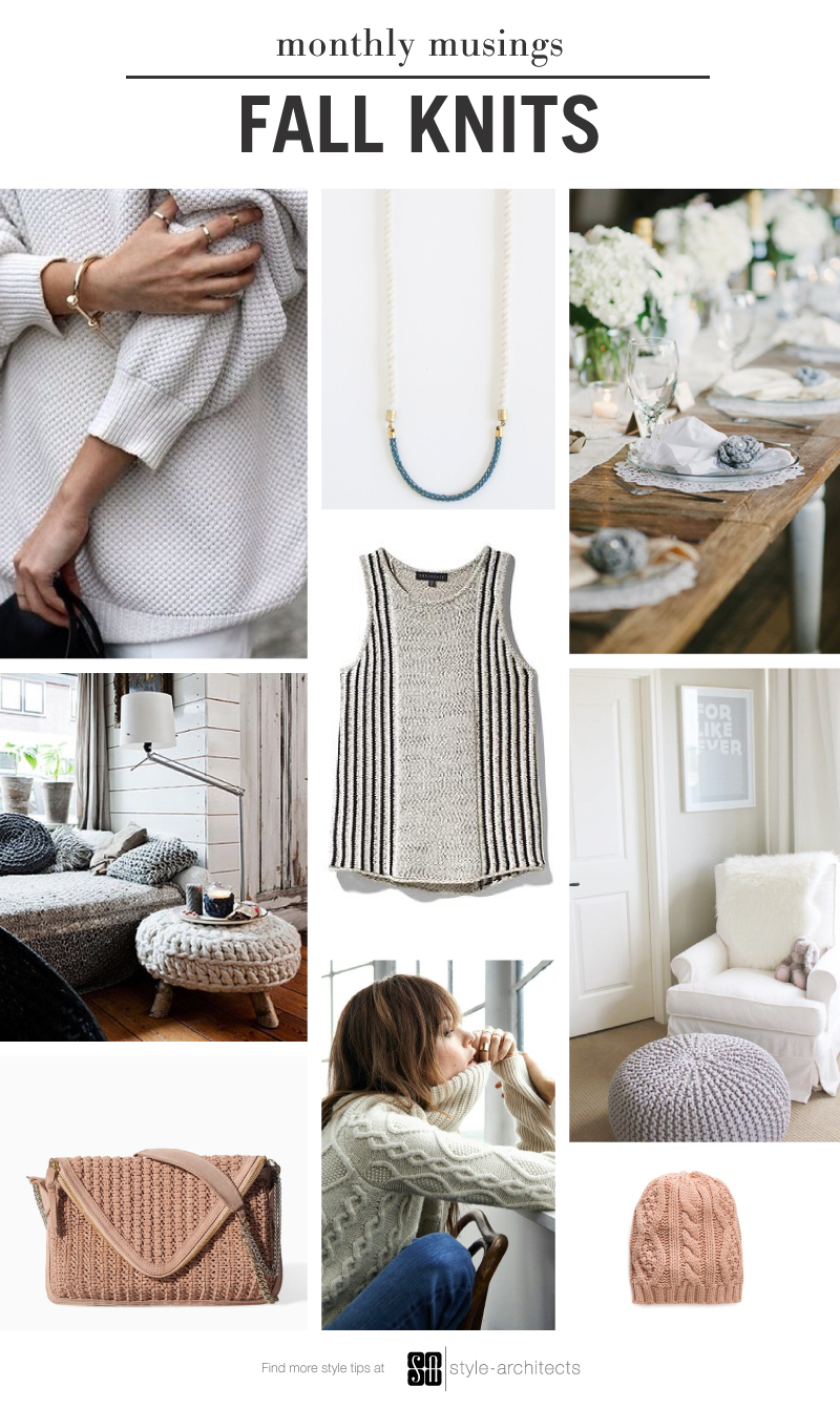 Monthly Musing: Fall Knit via Style-Architects