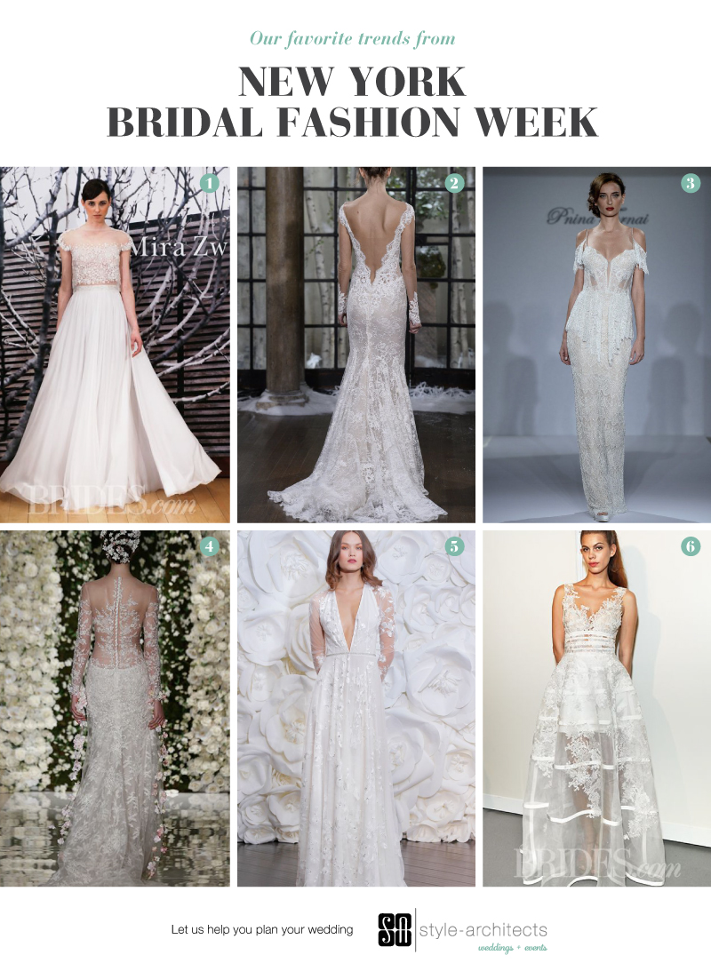 Style-Architects Weddings + Events — 2015 Bridal Gown Trends